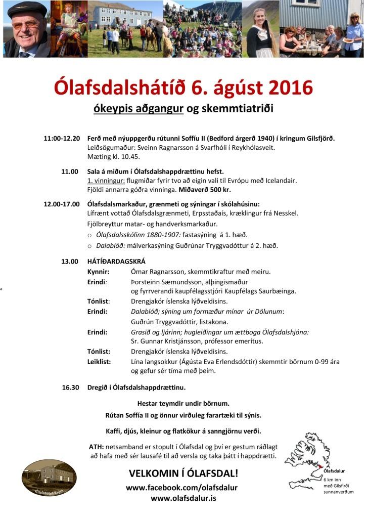 Dagskrá Ólafsdalshátíðar 2016_2